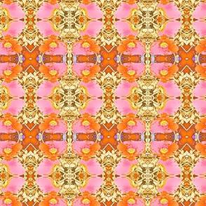 Pink Orange Poppy
