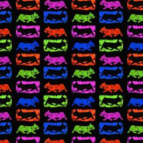 Pembroke Fiesta stamps - bold