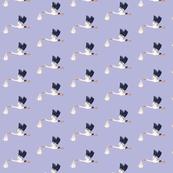 STORK in lavender