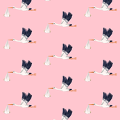STORK in pink