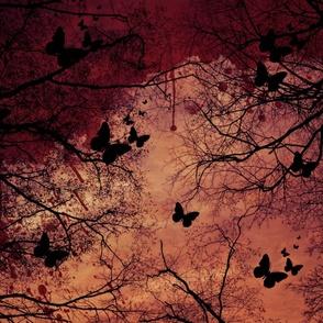 Blood Red Butterflies