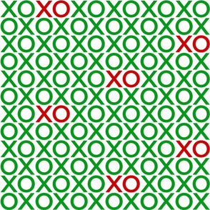 XOXO : green + red : big