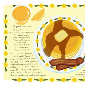 vegan_pancakes_and_fakin_bacon_tea_towel_placemat