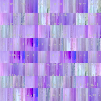 Purple and Blue Tiles Blur
