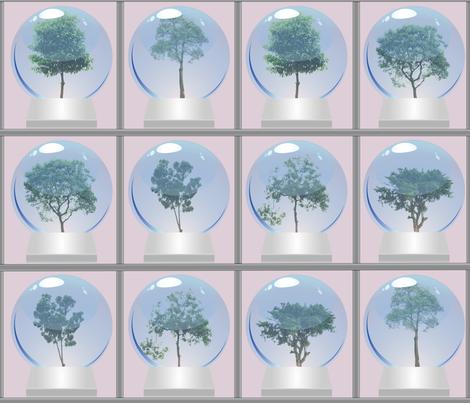 Tree_Museum fabric by relk on Spoonflower - custom fabric
