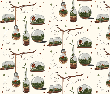 Terraria fabric by bsmitharts on Spoonflower - custom fabric