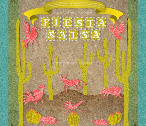 Fiesta Salsa!  (recipe on the banner)