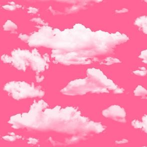 cupid pink clouds