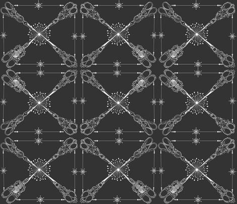 SCISSORS fabric by bluevelvet on Spoonflower - custom fabric