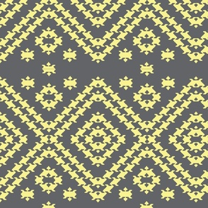 Pup tooth grey yellow