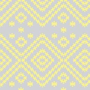 Pup tooth grey yellow-pastels