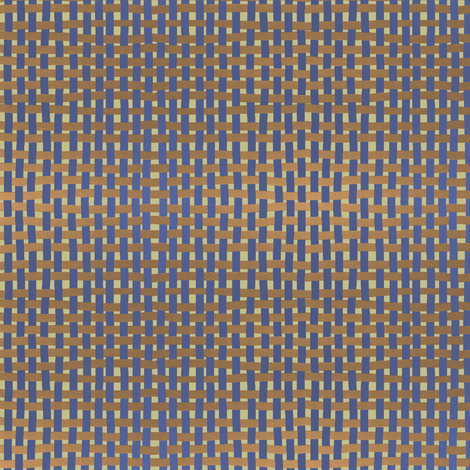 NP_Basketweave: gold and muted purple