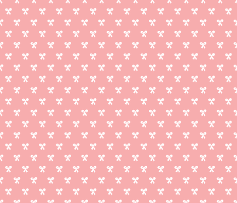 Sweet vintage baby girl bow pink fabric for Retro baby fabric