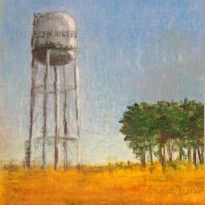 Water Tower -  Orange