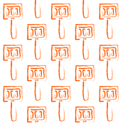 Spatula in Orange