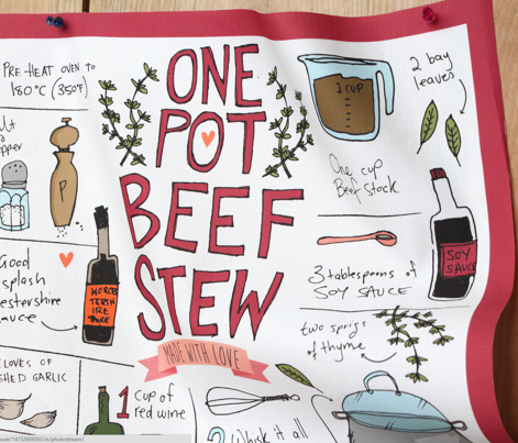 One pot beef stew made with love