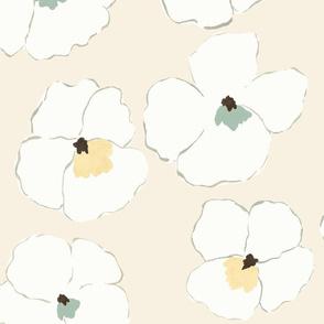 warhol garden - cream -
