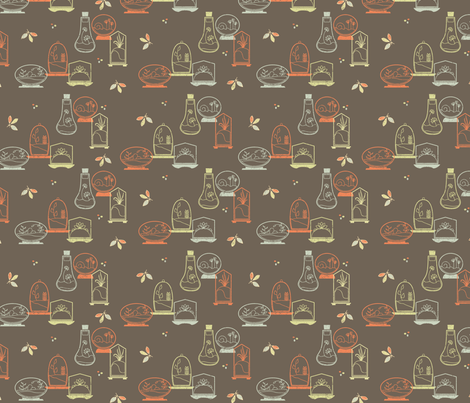 septemberhouseterrarium fabric by septemberhouse on Spoonflower - custom fabric