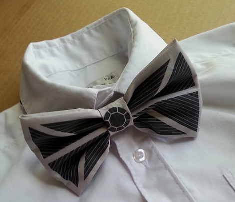 Star Wars Inspired Bow or Bow Tie Set