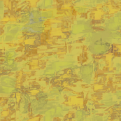 Spring Camouflage Brush Strokes