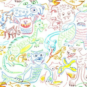 Crayon Monsters 1