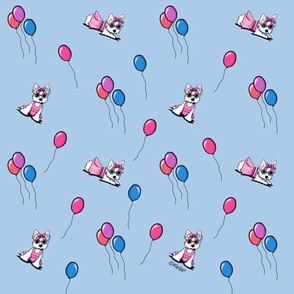 Olivia With Balloons (Small)