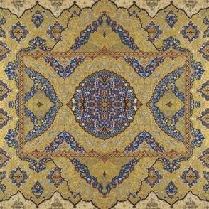 Persian Dream ~Gilt on Cobalt
