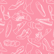 Shoe addict - pink