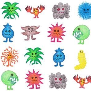 Crayon Monsters