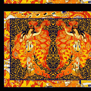 "Bakst Remix 21"" Lumbar Pillow tops by the yard"