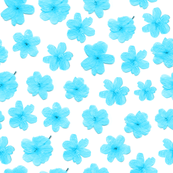 Flowering Blue