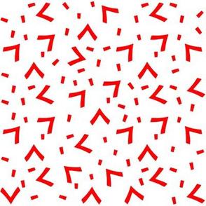 Aja's red boomerangs