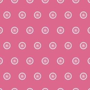 Pink Spoke-A-Dots