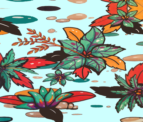 spoonflower_tarrarium-ed fabric by fauxsher on Spoonflower - custom fabric