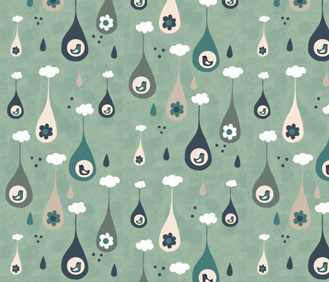 Terrariums fabric by kathrinlegg on Spoonflower - custom fabric