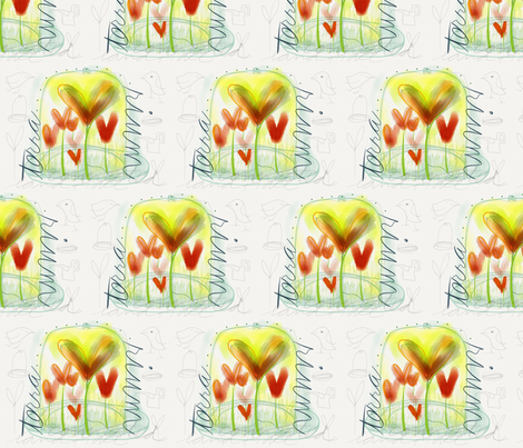 terrarium fabric by leannethomas on Spoonflower - custom fabric