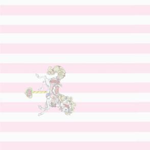 carousel pink