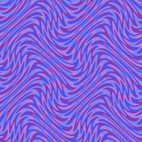 purple double feather swirl