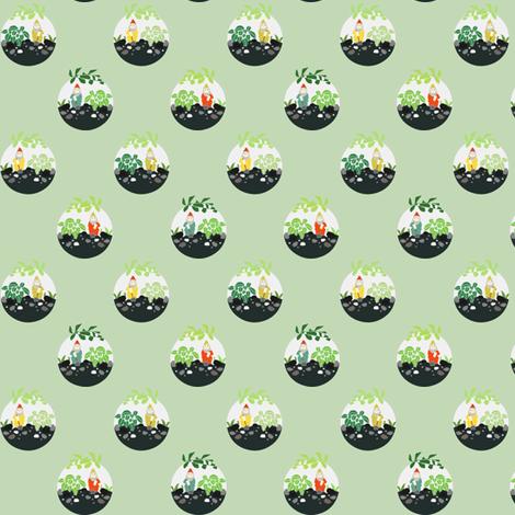 Terrariums fabric by axelle_design on Spoonflower - custom fabric