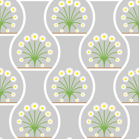 terrarium 1x fabric by sef on Spoonflower - custom fabric
