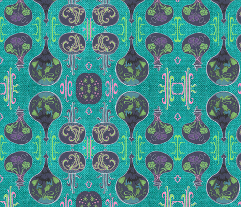 Wild Terrarium fabric by emanuelletomato on Spoonflower - custom fabric