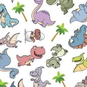 Dinosaurs White