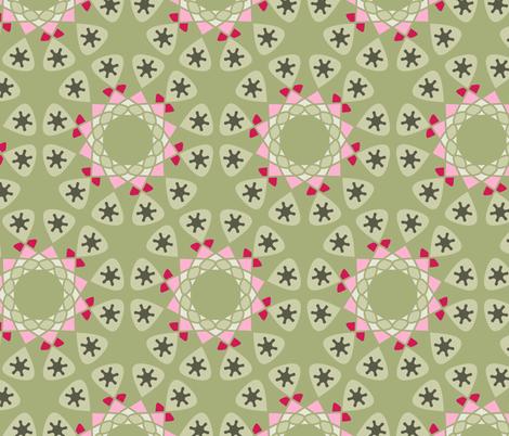 Terrarium fabric by chantal_pare on Spoonflower - custom fabric