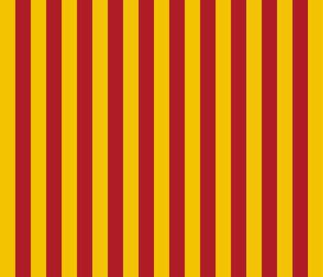 Harry Potter Inspired Gryffindor Stripes fabric by designedbygeeks on Spoonflower - custom fabric