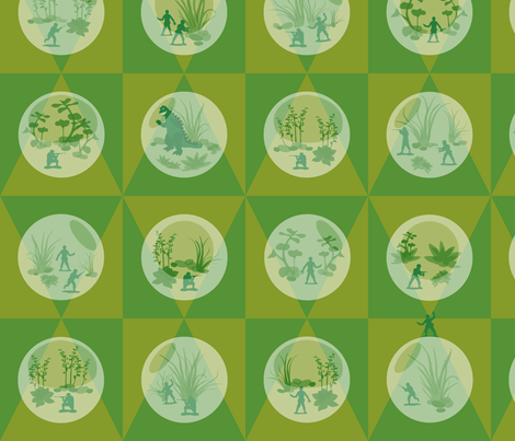 Yippee-Ki-Yay fabric by gray___ on Spoonflower - custom fabric