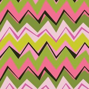 Wonky Mike & Twist Chevron