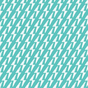 Geometric Thunderbolt lightning blue pattern