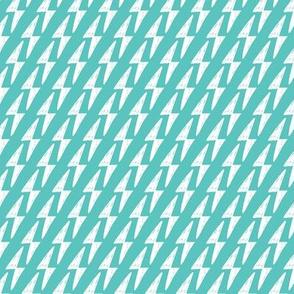 Geometric Thunderbolt lightning blue pattern