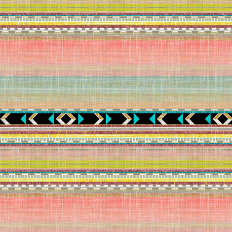 Aztec Arrows fabric by joanmclemore on Spoonflower - custom fabric