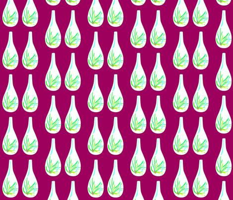 tear drop terrariun fabric by meg_hudson_designs on Spoonflower - custom fabric